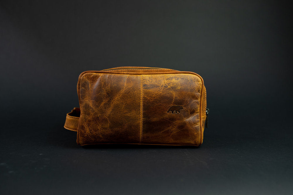 Buffalo Leather Dopp - LG