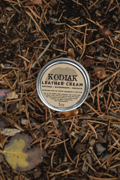 Kodiak Leather Cream - 1 oz Tin
