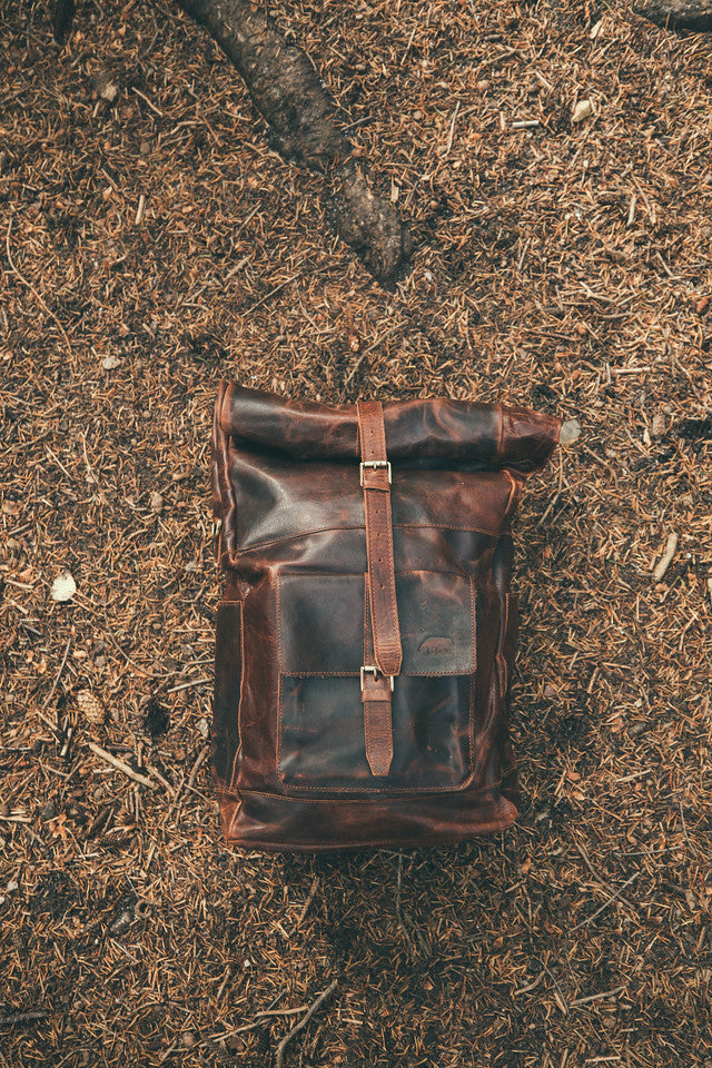 Kobuk Leather Backpack