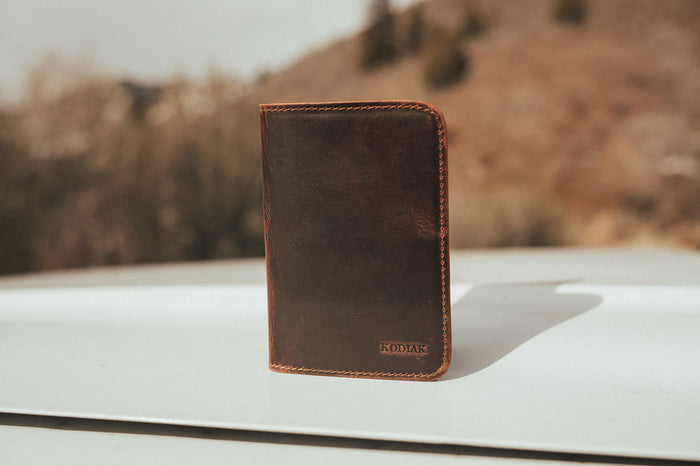 Buffalo Leather Passport Cover