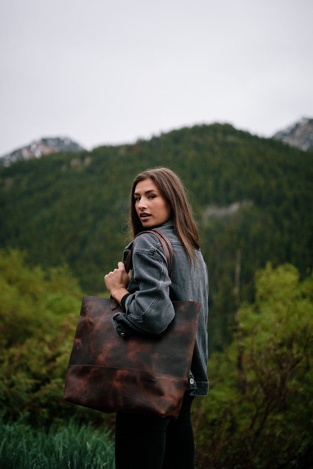 Juneau Leather Tote