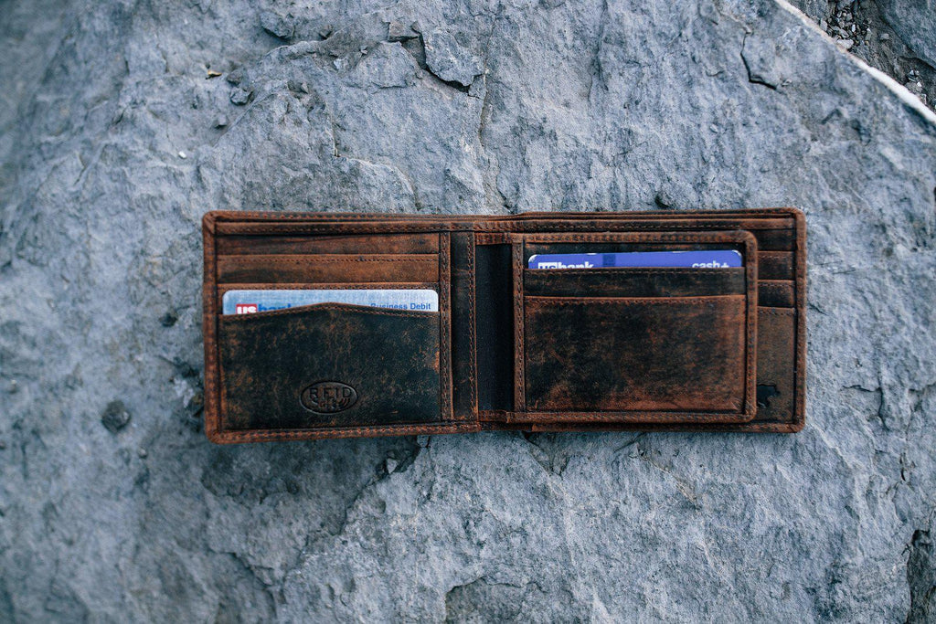 Large RFID Bifold Wallet