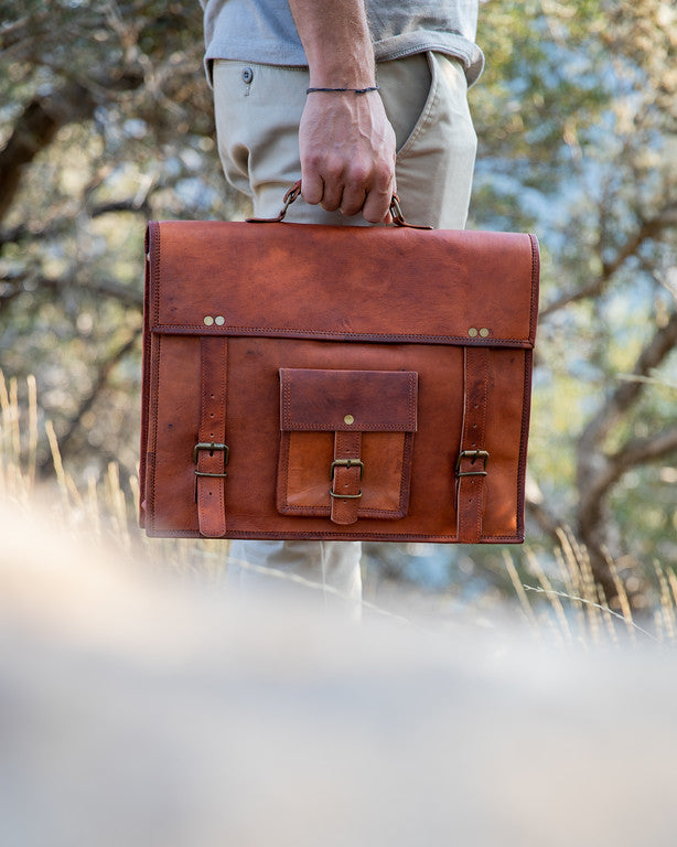 Kodiak Leather Satchel