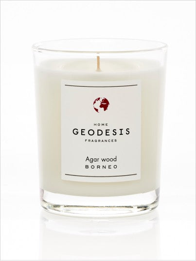 Geodesis Fragrance Candle – Agar Wood (Borneo)