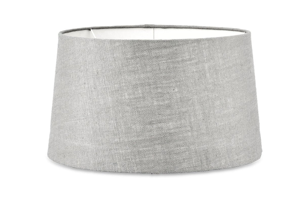 Medium Jute Lampshade - Grey