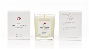 Geodesis Scented Candle in Black Tea (China)