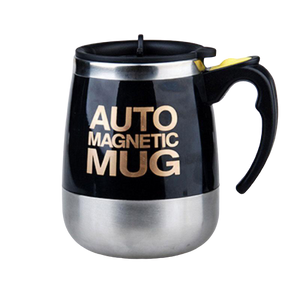 Intelligent Self Stirring Mug, Perfect for Lazy Coffee & Tea Drinkers Everywhere | A Fun time Travel Mate - ccaffeinated