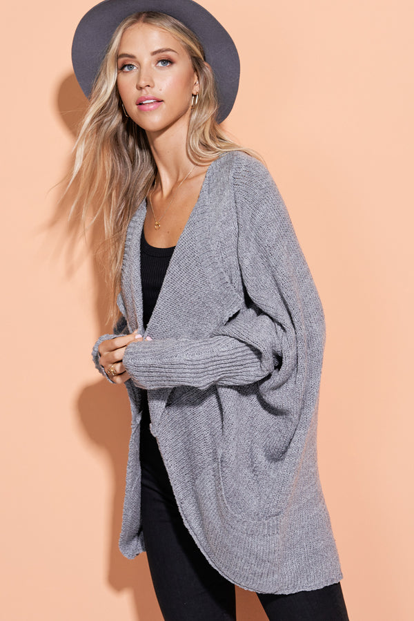 Makenna Grey Well Rounded Cardi