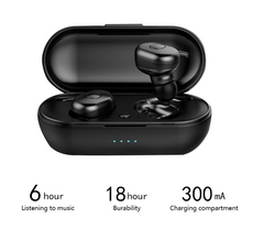 Black Noise Canceling Earbuds