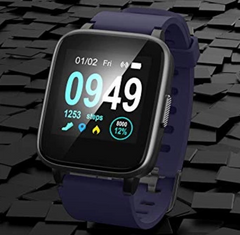 Blue Color Fitness Tracker ID205 Smartwatch