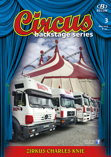 Circus Backstage Series Nr. 3 / July 2019