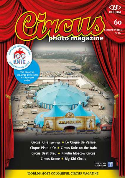 Circus Photo Magazine Nr. 60 / September 2019