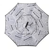 Load image into Gallery viewer, Inverted Umbrella for Drivers and Umbrella that keeps the floor dry