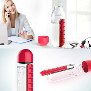 Water Bottle Pill Organizer