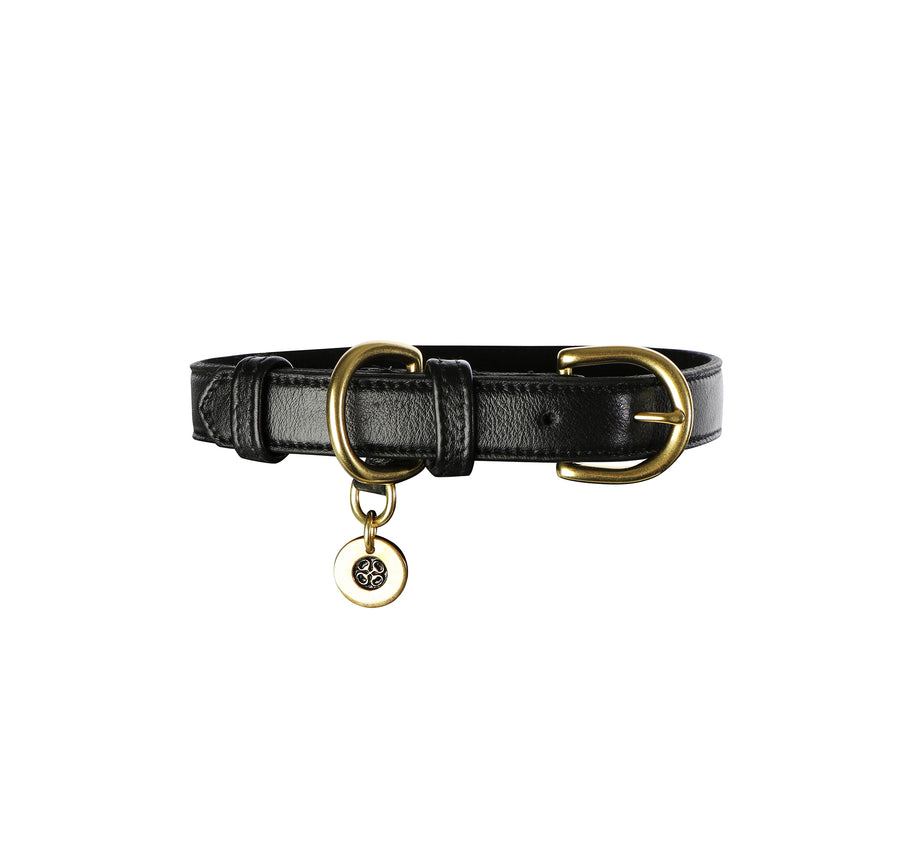exclusive genuine leather dog collar