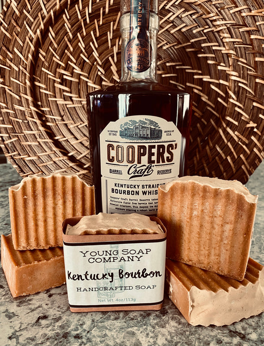 Kentucky Bourbon Handcrafted Soap