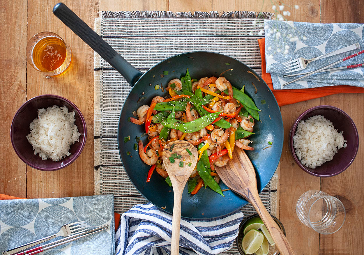 carbon steel cookware so beautiful it can double as a serving dish. The best handmade wok out there.