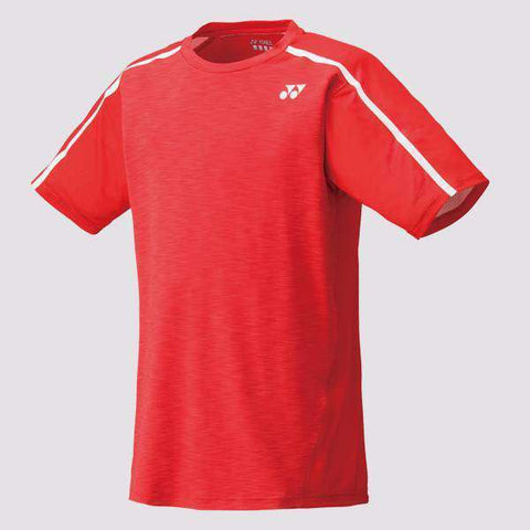 Yonex T-Shirt 10149 Red-Men Apparel-Le Coin Badminton | Pickleball | Tennis