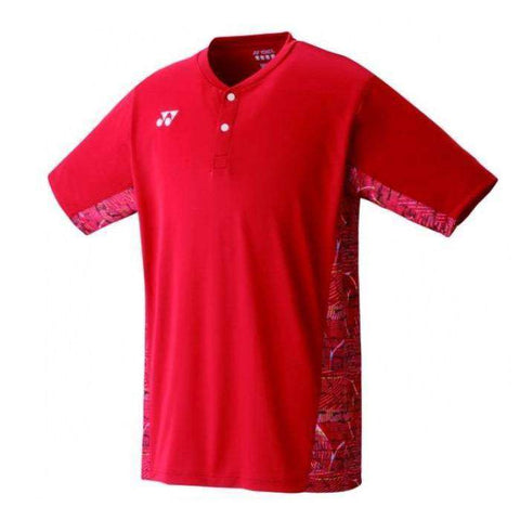 Yonex T-Shirt 10232 Red-Men Apparel-Le Coin Badminton | Pickleball | Tennis