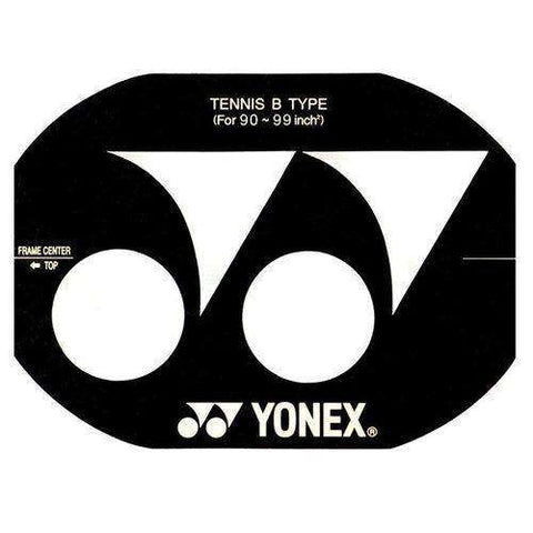 "Yonex Stencil Tennis 90-99""-Ink & Stencils-Le Coin Badminton 