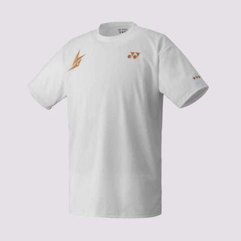 Yonex T-Shirt 16004 Lin Dan Blanc-Vêtements Homme-Le Coin Badminton | Pickleball | Tennis