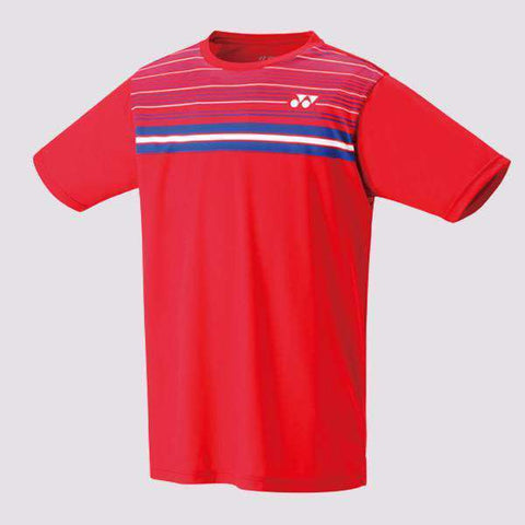 Yonex T-Shirt 16349 Replica LCW Red-Men Apparel-Le Coin Badminton | Pickleball | Tennis