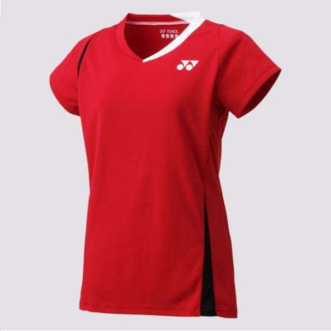 Yonex 20371 Cap Sleeve Red-Women Apparel-Le Coin Badminton | Pickleball | Tennis