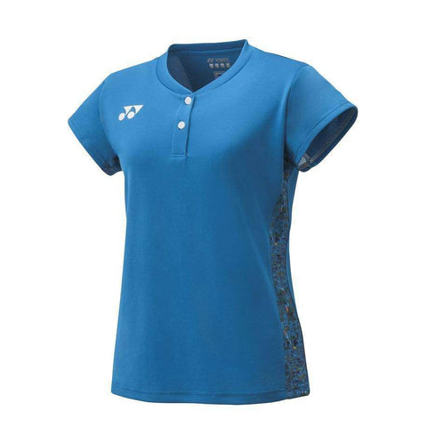 Yonex 20412 Cap Sleeve Blue-Women Apparel-Le Coin Badminton | Pickleball | Tennis