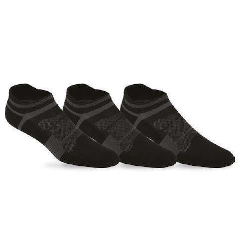 Asics Quick Lyte Black/Dark Grey Socks-Men Apparel-Le Coin Badminton | Pickleball | Tennis