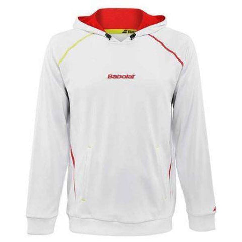 Babolat Sweater 40S1507 White-Men Apparel-Le Coin Badminton | Pickleball | Tennis