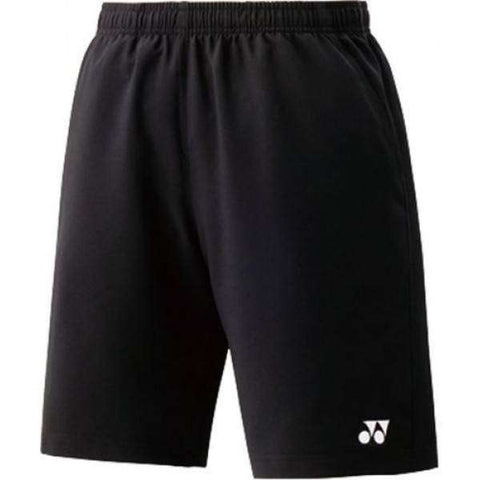 Yonex Shorts 15048 Black-Men Apparel-Le Coin Badminton | Pickleball | Tennis