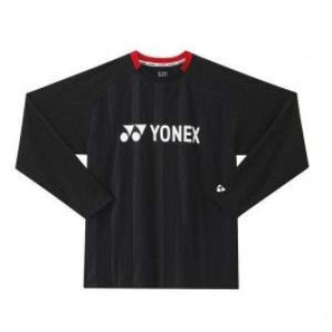 Yonex Long Sleeve T-Shirt U5231 Black-Men Apparel-Le Coin Badminton | Pickleball | Tennis
