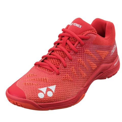 Yonex Power Cushion Aerus 3 M Red-Indoor Shoes-Le Coin Badminton | Pickleball | Tennis