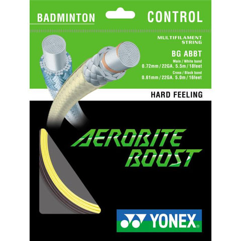 Yonex Aerobite Boost-Badminton Strings-Le Coin Badminton | Pickleball | Tennis