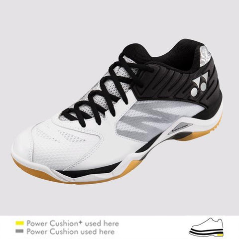 Yonex Power Cushion Comfort Z White M-Indoor Shoes-Le Coin Badminton | Pickleball | Tennis