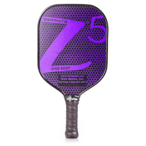 Onix Graphite Z5 Purple-Pickleball Racquets-Le Coin Badminton | Pickleball | Tennis