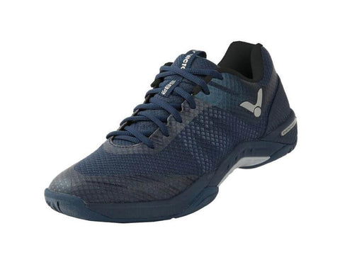 Victor S82-B Navy-Chaussures Indoor-Le Coin Badminton | Pickleball | Tennis