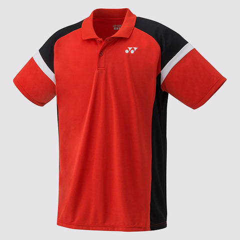 Yonex YM0002 Men's Polo Shirt SSRED-Men Apparel-Le Coin Badminton | Pickleball | Tennis