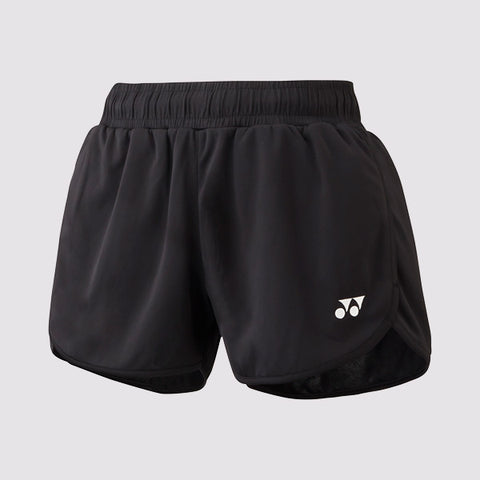 Yonex Short YW0004 Black Women-Women Apparel-Le Coin Badminton | Pickleball | Tennis