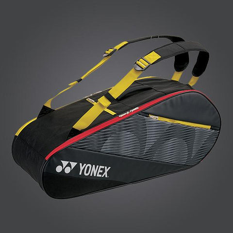 Yonex Bag 82026 Black / Yellow-Bags-Le Coin Badminton | Pickleball | Tennis