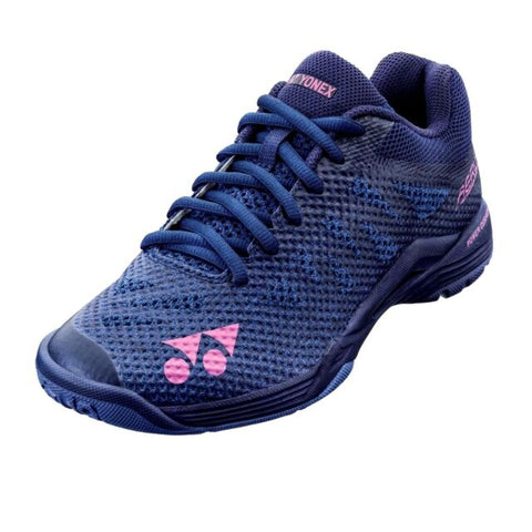 Yonex Power Cushion Aerus 3 L Navy blue-Indoor Shoes-Le Coin Badminton | Pickleball | Tennis