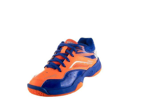 Victor A960JR-OF Junior Orange/Blue-Indoor Shoes-Le Coin Badminton | Pickleball | Tennis