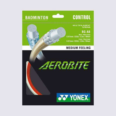 Yonex BG Aerobite-Badminton Strings-Le Coin Badminton | Pickleball | Tennis