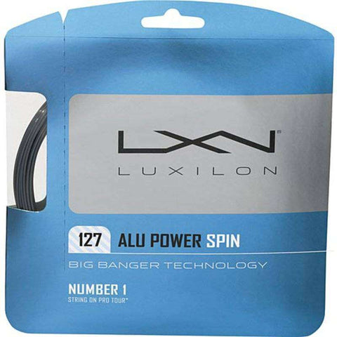 Luxilon AluPower Spin 125-Tennis Strings-Le Coin Badminton | Pickleball | Tennis