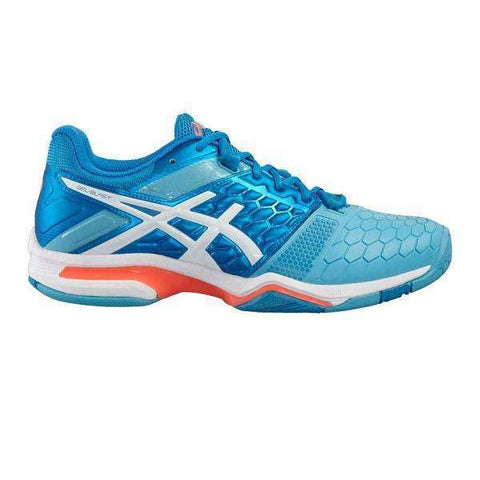 Asics Gel Blast 7 Blue Jewel / White Women-Indoor Shoes-Le Coin Badminton | Pickleball | Tennis