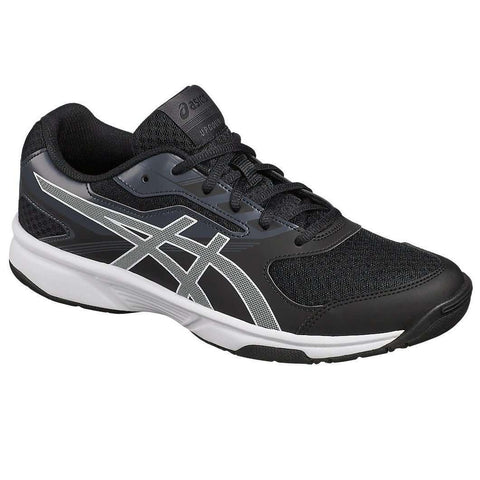 Asics Upcourt 2 B705Y Bk/White Men-Indoor Shoes-Le Coin Badminton | Pickleball | Tennis