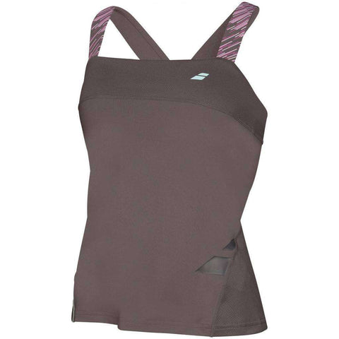 Babolat Tank Top Perf Women Dark Grey-Women Apparel-Le Coin Badminton | Pickleball | Tennis
