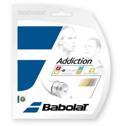Babolat Addiction 130/16-Tennis Strings-Le Coin Badminton | Pickleball | Tennis