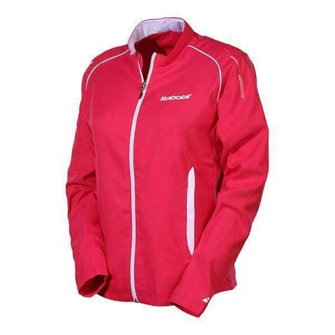 Babolat Women's Jacket 41S1525 Pink-Women Apparel-Le Coin Badminton | Pickleball | Tennis