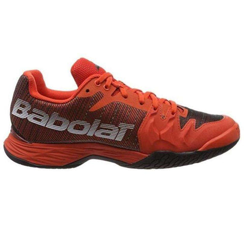 Babolat Jet Mach II Org/Blk-Outdoor Shoes-Le Coin Badminton | Pickleball | Tennis